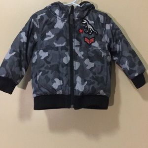 Toddler camouflage coat